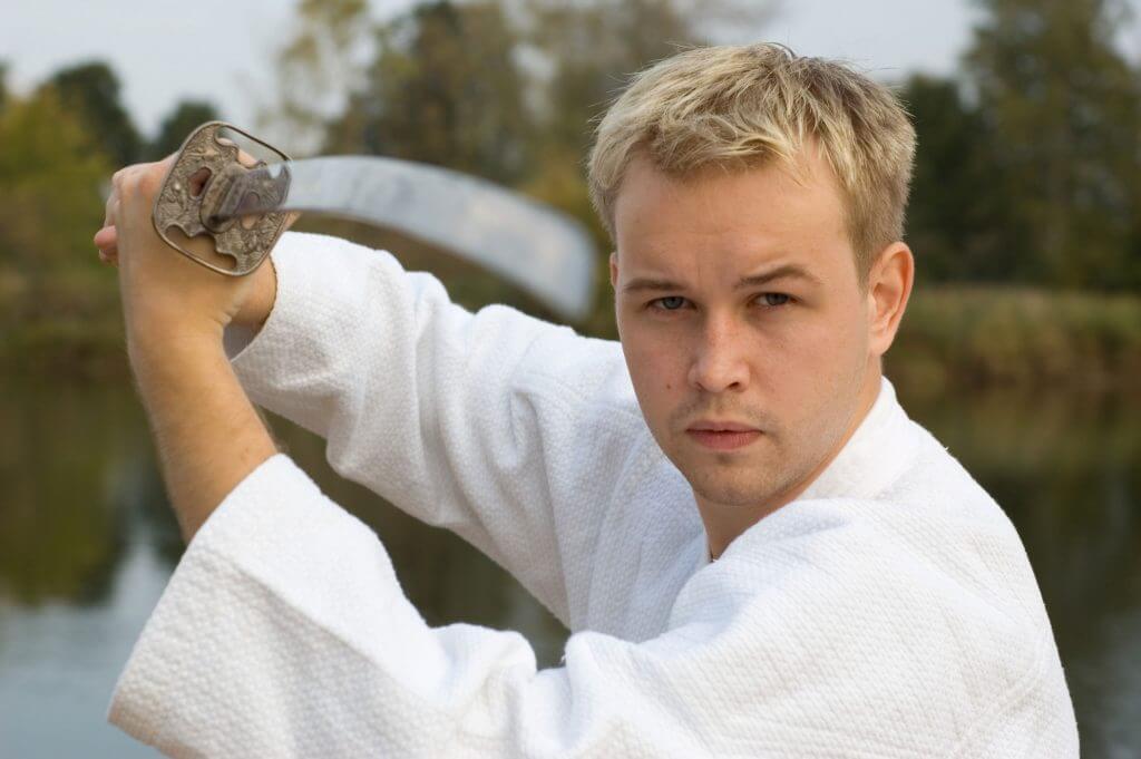 Martial Arts Lessons for Adults in Woburn MA - Samurai Sword Posing Blog