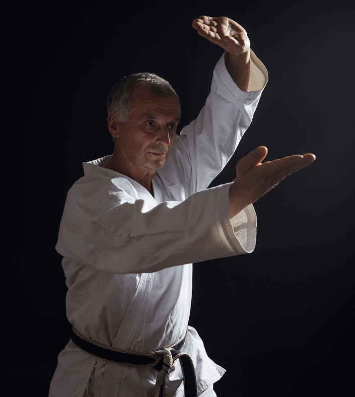 Martial Arts Lessons for Adults in Woburn MA - Older Man