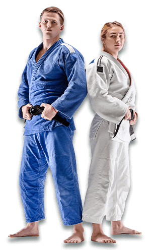 Brazilian Jiu Jitsu Lessons for Adults in Woburn MA - BJJ Man and Woman Banner Page
