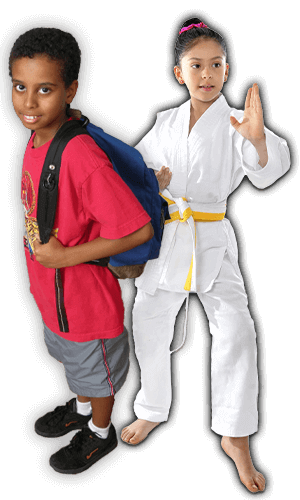 After School Martial Arts Lessons for Kids in Woburn MA - Backpack Kids Banner Page